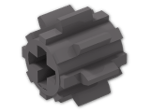 LEGO® Stein: Technic Gear 8 Tooth Reinforced (10928) | Farbe: Dark Stone Grey