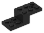 LEGO® Brick: Bracket 5 x 2 x 1.333 (11215) | Color: Black