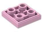 LEGO® Brick: Tile 2 x 2 Inverted with Groove (11203) | Color: Light Purple