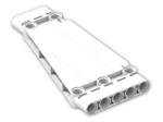 LEGO® Brick: Technic Panel 5 x 11 Trapezium (18945) | Color: White