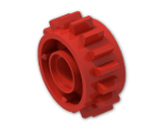 LEGO® Brick: Technic Gear 16 Tooth with Clutch on Both Sides (18946) | Color: Bright Red
