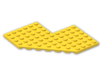 LEGO® Brick: Plate 10 x 10 without Corner (2401) | Color: Bright Yellow