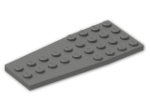 LEGO® Stein: Wing 4 x 9 (2413) | Farbe: Dark Grey