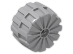 LEGO® Brick: Wheel Hard-Plastic Giant (2573) | Color: Medium Stone Grey