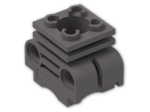 LEGO® Brick: Technic Engine Cylinder Head (2850) | Color: Dark Stone Grey