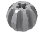 LEGO® Brick: Technic Ball with Grooves (2907) | Color: Medium Stone Grey