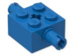 LEGO® Brick: Brick 2 x 2 with Pins and Axlehole (30000) | Color: Bright Blue