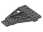 LEGO® Brick: Wing 8 x 6 x 2/3 (30036) | Color: Dark Stone Grey