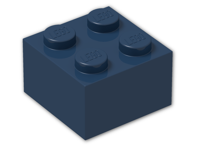 LEGO Lavender Brick 2x2 Lot of 100 Parts Pieces 3003