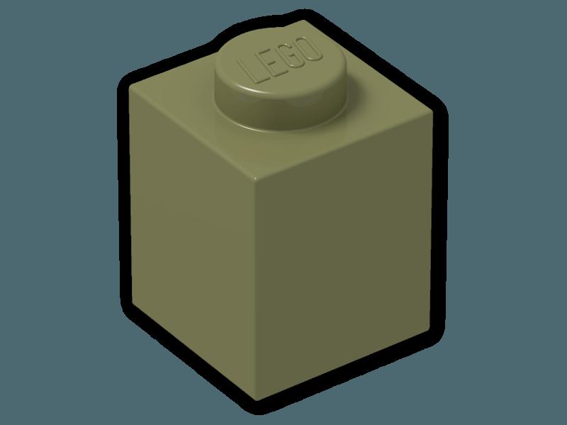 New Lego BRICK 1x1 RED 3005 Qty 50