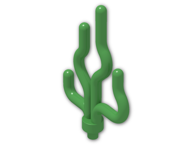 Grass Stem - Plant LEGO - Bright Green X2