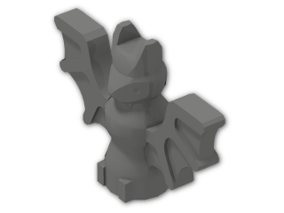 LEGO® Stein: Animal Bat (30103) | Farbe: Dark Grey