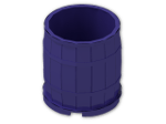 LEGO® Brick: Barrel 4 x 4 x 3.5 (30139) | Color: Medium Lilac