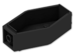 LEGO® Brick: Container Minifig Coffin (30163) | Color: Black