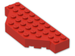 LEGO® Brick: Brick 4 x 10 without Two Corners (30181) | Color: Bright Red