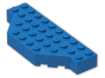 LEGO® Brick: Brick 4 x 10 without Two Corners (30181) | Color: Bright Blue