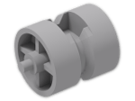 LEGO® Stein: Wheel Centre Wide with Stub Axles (30190) | Farbe: Medium Stone Grey