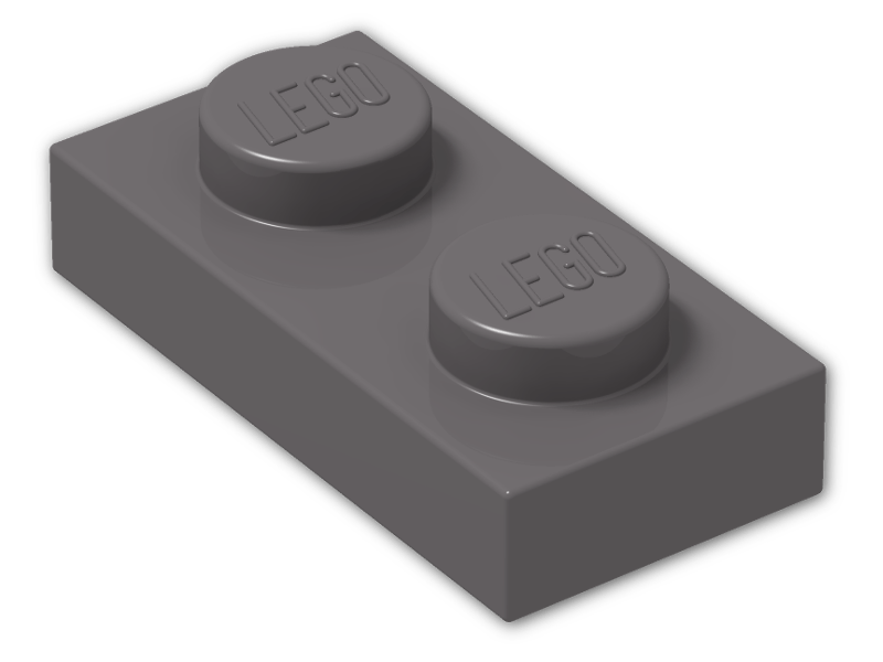 Lego-3023-plate 1 x 2  choose colour x4
