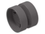 LEGO® Stein: Wheel Rim 14.8 x 16.8 with Centre Groove (30285) | Farbe: Dark Stone Grey