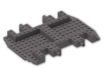 LEGO® Brick: Car Base 12 x 18 x 1.333 (30295) | Color: Dark Stone Grey