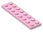 LEGO® Brick: Plate 2 x 8 (3034) | Color: Light Purple