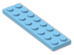 LEGO® Brick: Plate 2 x 8 (3034) | Color: Dove Blue