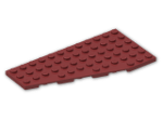 LEGO® Brick: Wing 6 x 12 Left (30355) | Color: New Dark Red