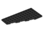 LEGO® Brick: Wing 6 x 12 Left (30355) | Color: Black