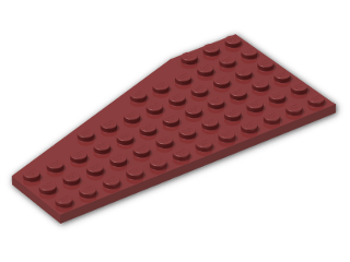 LEGO® Stein: Wing 6 x 12 Right (30356) | Farbe: New Dark Red