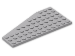 LEGO® Brick: Wing 6 x 12 Right (30356) | Color: Medium Stone Grey