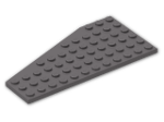 LEGO® Brick: Wing 6 x 12 Right (30356) | Color: Dark Stone Grey