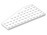 LEGO® Brick: Wing 6 x 12 Right (30356) | Color: White