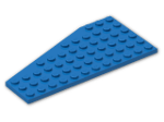 LEGO® Brick: Wing 6 x 12 Right (30356) | Color: Bright Blue