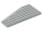 LEGO® Brick: Wing 6 x 12 Right (30356) | Color: Grey