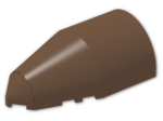 LEGO® Stein: Windscreen 4 x 7 x 2 Round Pointed (30384) | Farbe: Brown