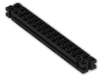 LEGO® Brick: Support 2 x 16 x 2 Girder Triangular (30518) | Color: Black
