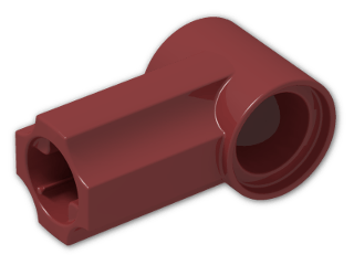 LEGO® Brick: Technic Angle Connector #1 (32013) | Color: New Dark Red