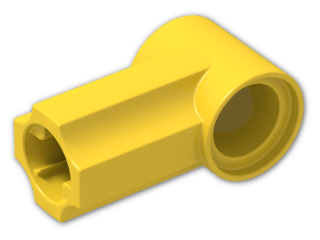 LEGO® Brick: Technic Angle Connector #1 (32013) | Color: Bright Yellow