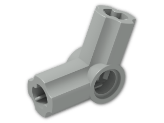 LEGO® Brick: Technic Angle Connector #5 (112.5 degree) (32015) | Color: Grey