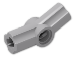 LEGO® Brick: Technic Angle Connector #3 (157.5 degree) (32016) | Color: Medium Stone Grey