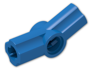 LEGO® Brick: Technic Angle Connector #3 (157.5 degree) (32016) | Color: Bright Blue