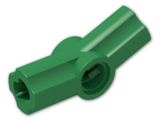LEGO® Brick: Technic Angle Connector #3 (157.5 degree) (32016) | Color: Dark Green