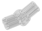 LEGO® Brick: Technic Angle Connector #3 (157.5 degree) (32016) | Color: Transparent