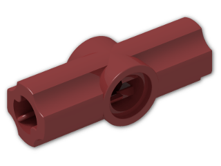 LEGO® Brick: Technic Angle Connector #2 (180 degree) (32034) | Color: New Dark Red