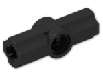 LEGO® Brick: Technic Angle Connector #2 (180 degree) (32034) | Color: Black