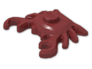 LEGO® Brick: Animal Crab (33121) | Color: New Dark Red