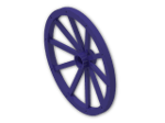 LEGO® Stein: Wheel 3.2 x 56 with 10 Spokes Wooden (33212) | Farbe: Medium Lilac