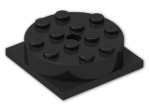 LEGO® Brick: Turntable 4 x 4 (Complete) (3403c01) | Color: Black