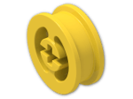 LEGO® Brick: Wheel Rim 8 x 17.5 with Axlehole (3482) | Color: Bright Yellow
