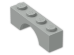 LEGO® Brick: Arch 1 x 4 (3659) | Color: Grey